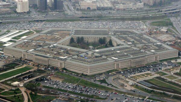 Budova Pentagonu v USA - Sputnik Česká republika
