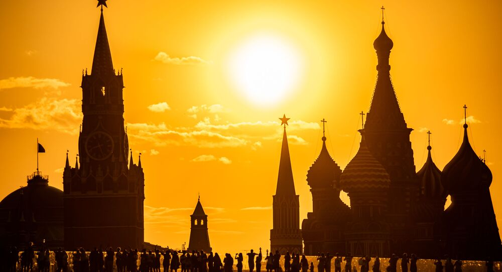 Výhled na Kreml v Moskvě. Ilustrační foto
