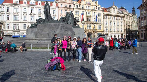 Čínští turisté v Praze - Sputnik Česká republika