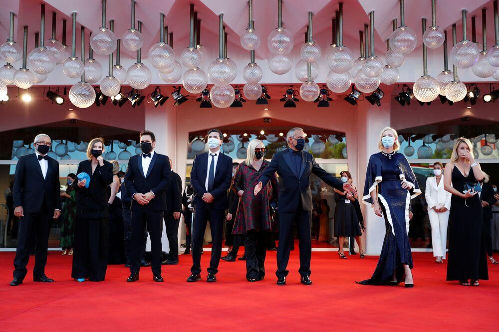Porota 77. ročníku filmového festivalu v Benátkách.