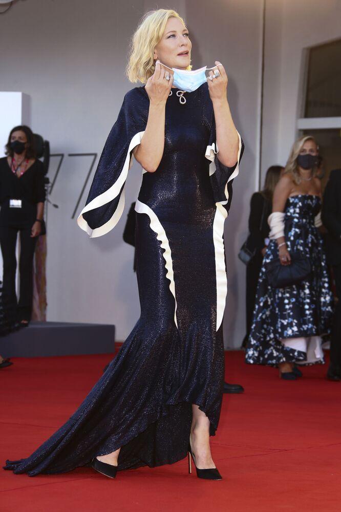Členka poroty, herečka Cate Blanchettová.