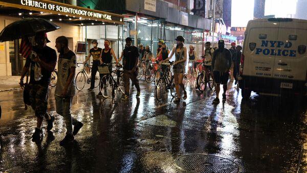 Protestní akce Black Lives Matter v New Yorku - Sputnik Česká republika