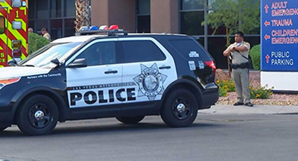 Policejní automobil. Ilustrační foto