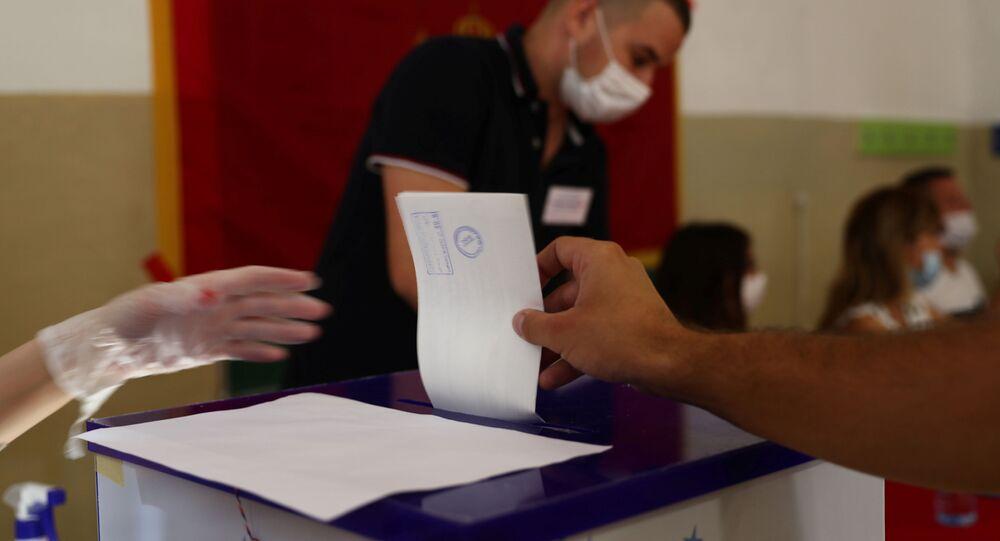 Hlasování v parlamentních volbách v Černé Hoře