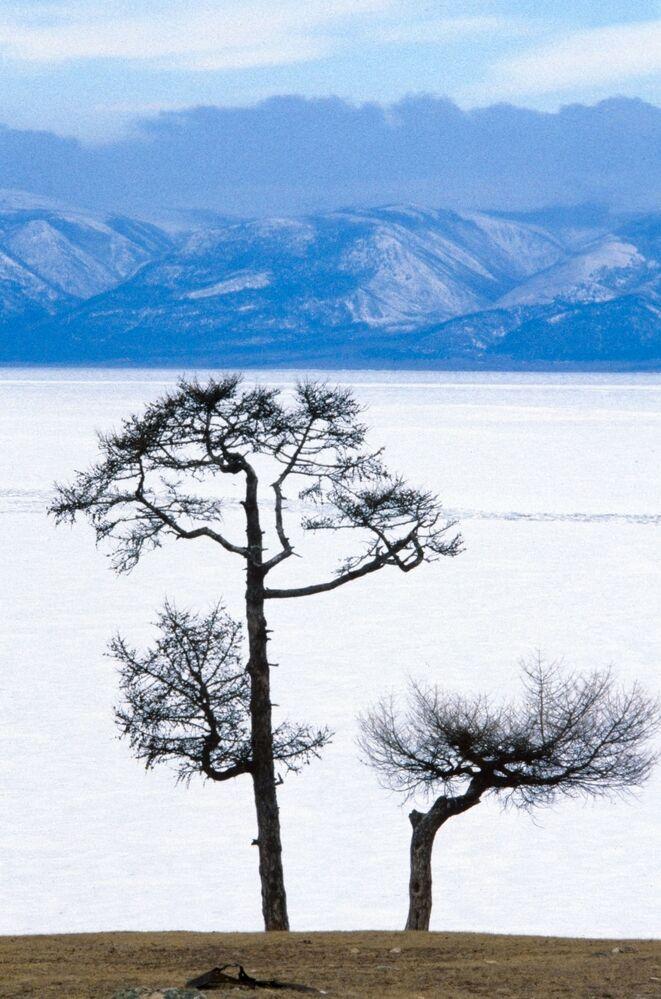 Všechny tváře vody: 15 minimalistických záběrů Bajkalu uchvatí každého