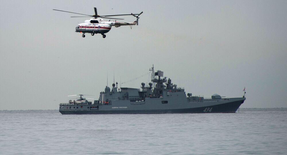 Loď Admiral Grigorovič v Černém moři
