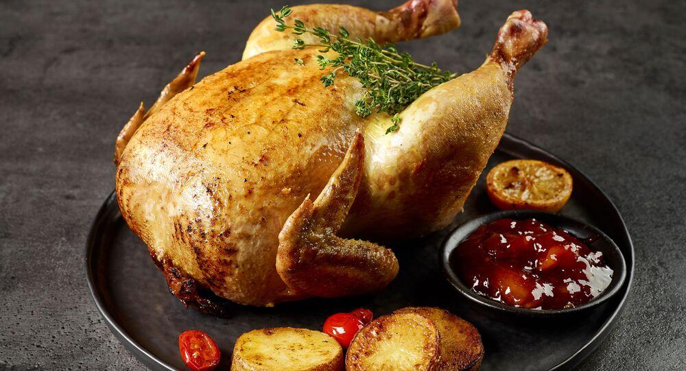 Pečené kuřátko
