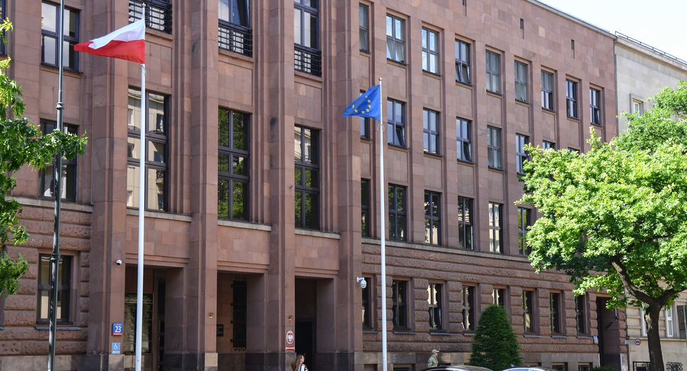 Budova polského ministerstva zahraničí
