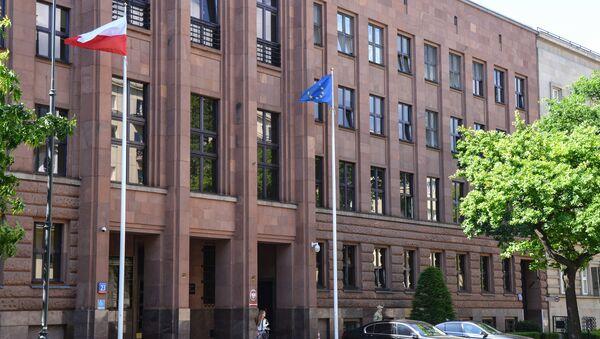 Budova polského ministerstva zahraničí - Sputnik Česká republika