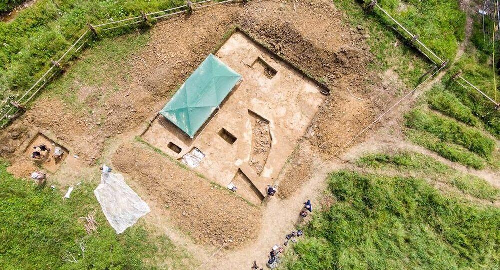Vykopávky na opuštěných hřbitovech vojáků v jihovýchodním Polsku