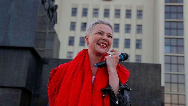 Členka běloruské opozice Maria Kolesniková - Sputnik Česká republika