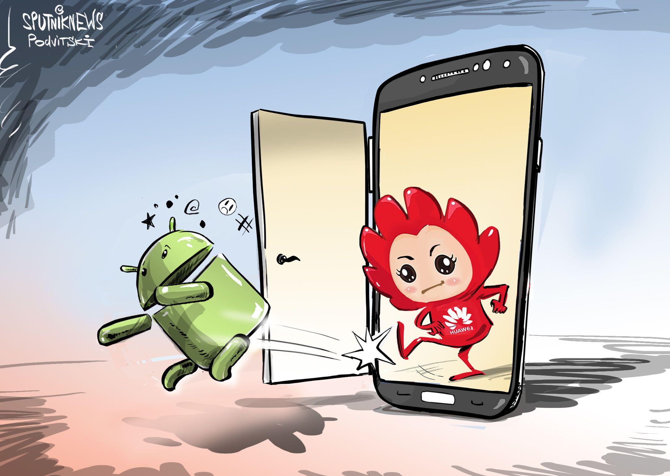 Uvolni cestu, Androide, na trhu je nový operační systém od Huawei