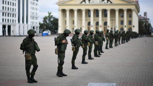 Bezpečnostní složky v Minsku (13.09.2020) - Sputnik Česká republika