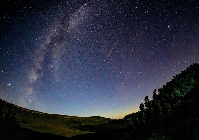 Hvězdné nebe. Illustrační foto