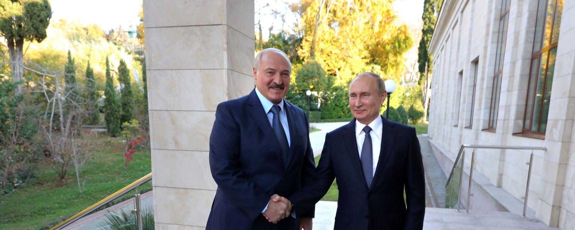 Alexandr Lukašenko a Vladimir Putin - Sputnik Česká republika, 1920, 28.05.2021