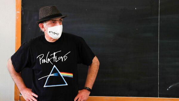 Učitel matematiky v jedné ze římských škol. Ilustrační foto - Sputnik Česká republika