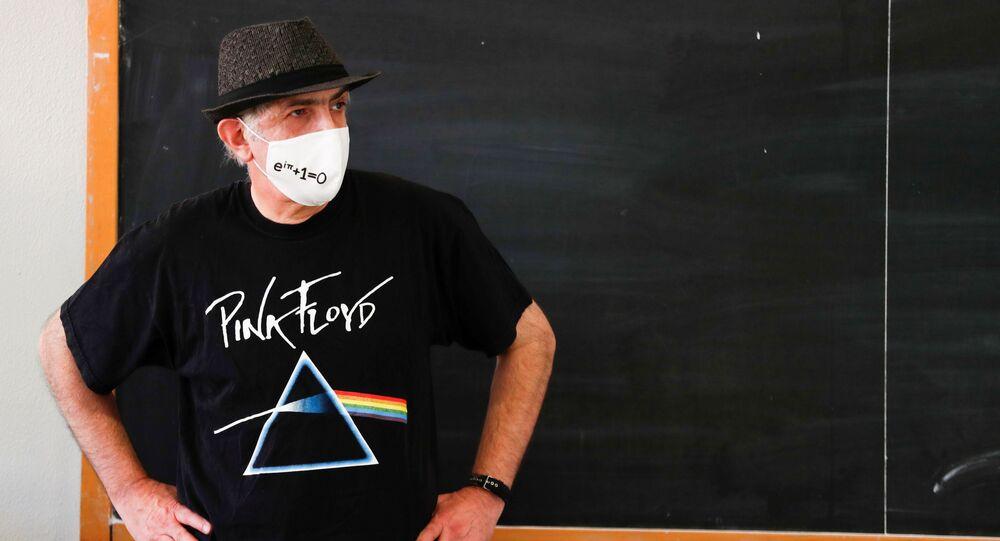 Učitel matematiky v jedné ze římských škol. Ilustrační foto