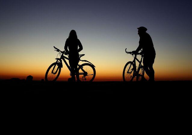 Cyklisté. Ilustrační foto
