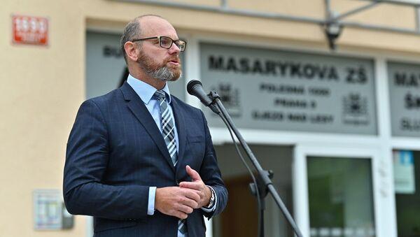 Ministr školství Robert Plaga - Sputnik Česká republika