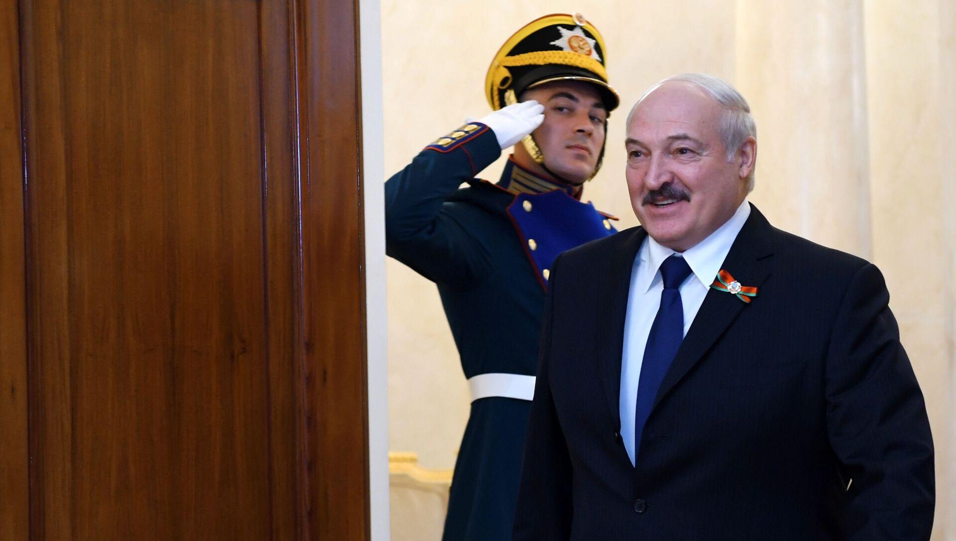 Běloruský prezident Alexandr Lukašenko  - Sputnik Česká republika, 1920, 11.02.2021