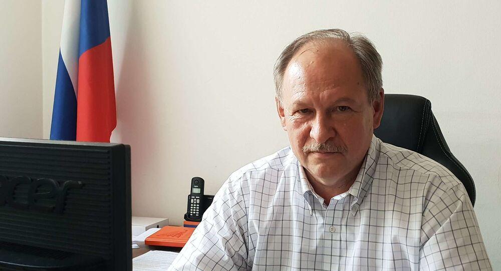 Nový ředitel Ruského střediska vědy a kultury v Praze Alexandr Tkačev