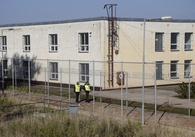Migrační centrum v Drahonicích