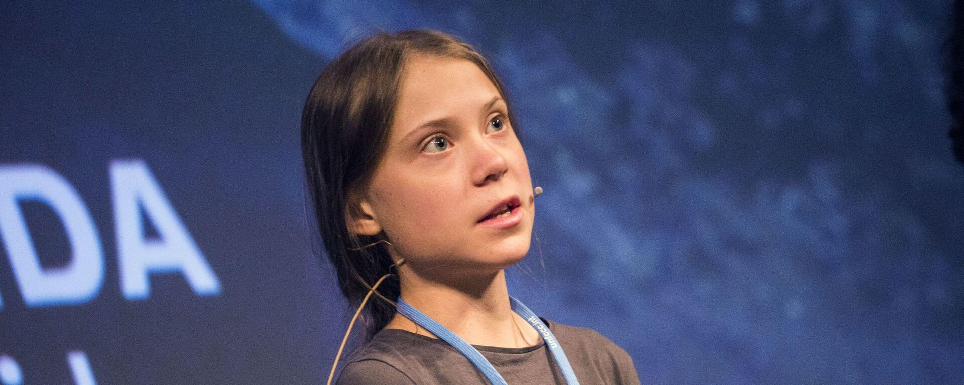 Greta Thunbergová - Sputnik Česká republika, 1920, 09.03.2021