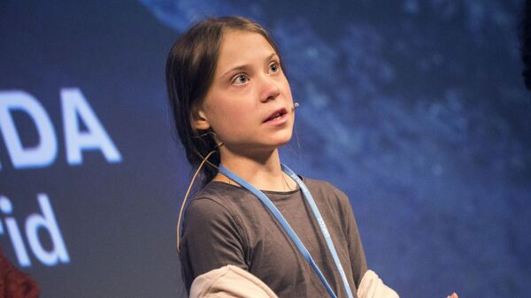 Greta Thunbergová - Sputnik Česká republika