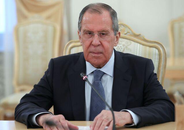Ruský ministr zahraničí Sergej Lavrov (ilustrační foto)
