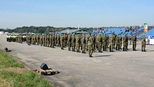 Přehlídka vojenské a policejní techniky zemí NATO Dny NATO v Ostravě, Česko - Sputnik Česká republika