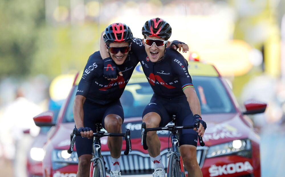 Účastníci cyklistického závodu Tour de France