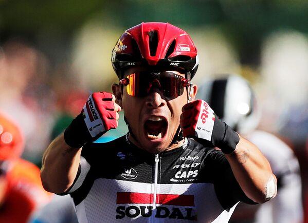 Účastník cyklistického závodu Tour de France - Sputnik Česká republika