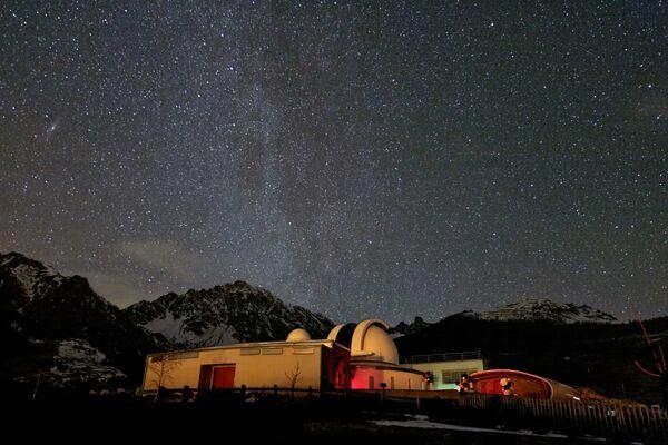 Observatoř Valle d'Aosta, Itálie - Sputnik Česká republika