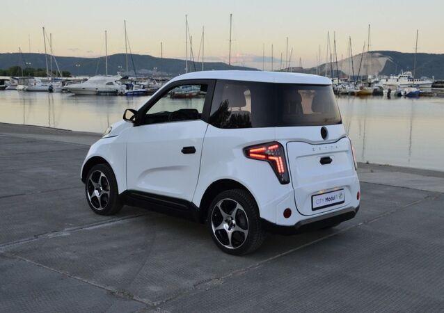 Ruský elektromobil Zetta