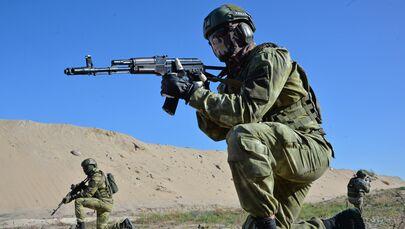 Vojáci během cvičení Slovanské bratrství 2020