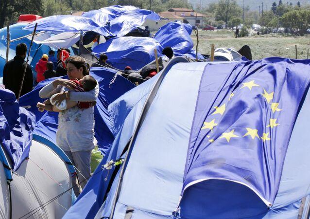 Migranti ve Řecku