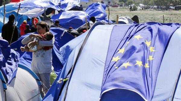 Migranti ve Řecku - Sputnik Česká republika