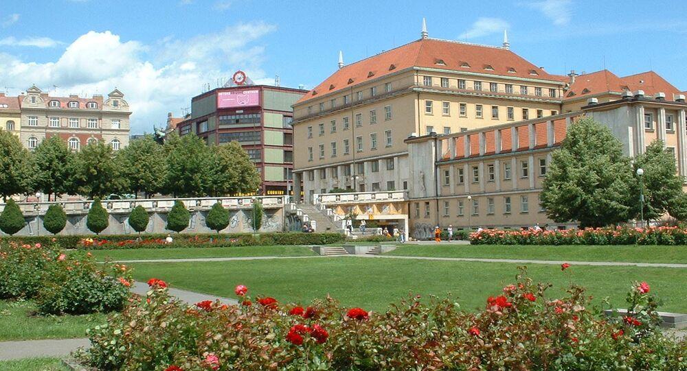 Budova Ministerstva zdravotnictví Česka