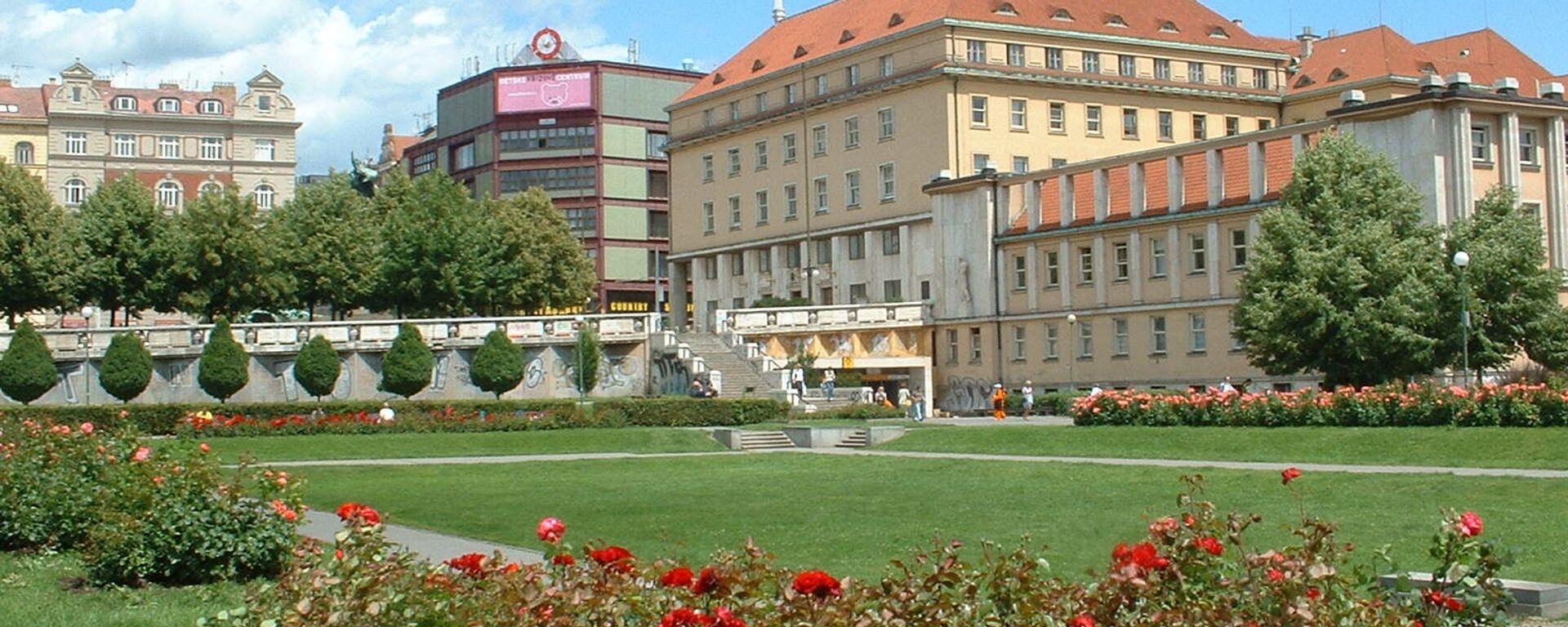 Budova Ministerstva zdravotnictví Česka - Sputnik Česká republika, 1920, 19.05.2021