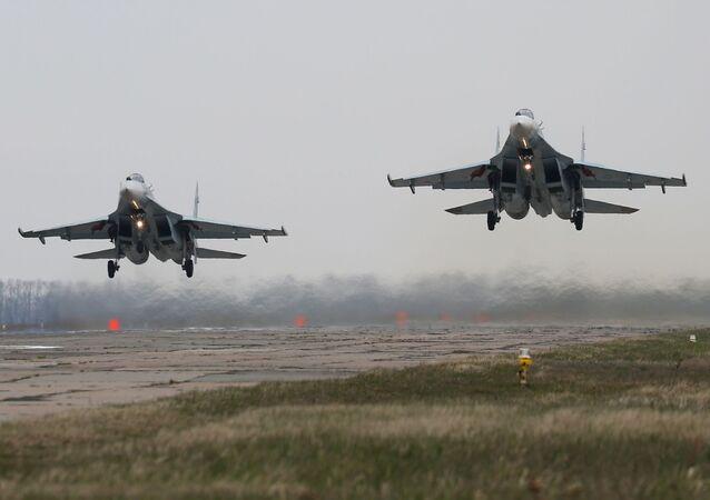 Stíhací letouny Su-27
