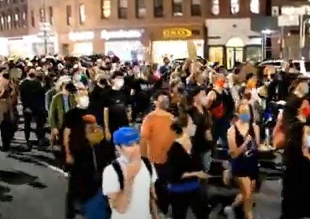 V New Yorku vypukly protesty po soudním rozhodnutí ve věci Breonny Taylor