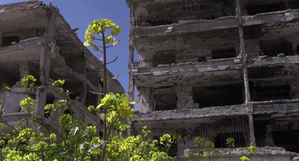 Trosky v Aleppu. Ilustrační foto
