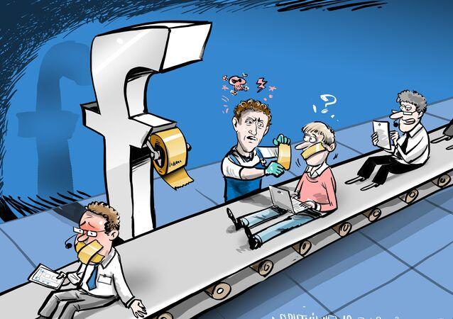 Ruská diplomacie obvinila Facebook z cenzury