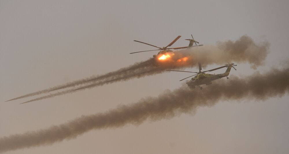Vojenská cvičení Kavkaz 2020
