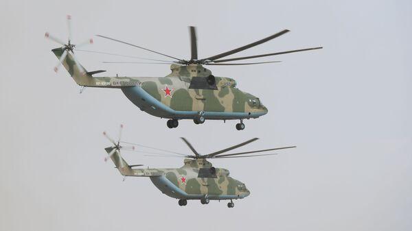 Vrtulníky Mi-26  - Sputnik Česká republika