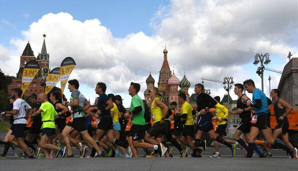 Moskevský maraton 2020 - Sputnik Česká republika