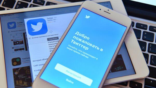 Stránka sociální sítě Twitter - Sputnik Česká republika