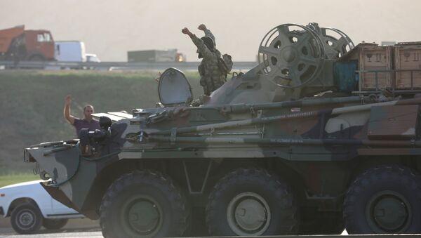 Voják v Baku  - Sputnik Česká republika