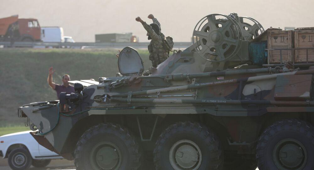 Voják v Baku