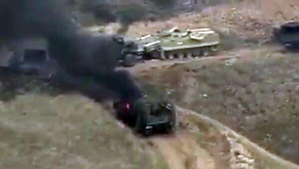 Bojové akce v Náhorním Karabachu - Sputnik Česká republika